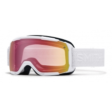 Showcase OTG White Eclipse Red Sensor Mirror by Smith Optics