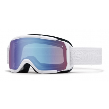 Showcase OTG White Eclipse Blue Sensor Mirror by Smith Optics