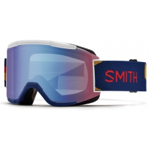 Squad Navy Outboard Blue Sensor Mirror by Smith Optics