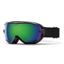 Virtue Black Eclipse Green Sol-X Mirror by Smith Optics
