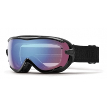Virtue Black Eclipse Blue Sensor Mirror by Smith Optics