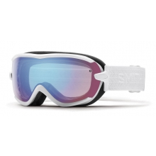 Virtue White Eclipse Blue Sensor Mirror by Smith Optics