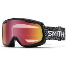 Riot Black New Wave Red Sensor Mirror by Smith Optics