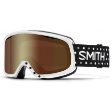 Riot White Dots Gold Sol X Mirror by Smith Optics
