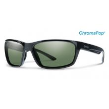 Redmond Black ChromaPop+  Polarized Gray Green by Smith Optics