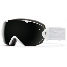I/OS White Eclipse Blackout by Smith Optics