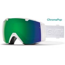 I/O Women's White Eclipse ChromaPop Sun by Smith Optics