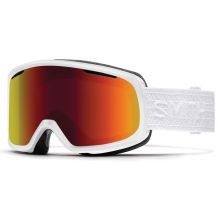 Riot White Eclipse Red Sol-X Mirror by Smith Optics