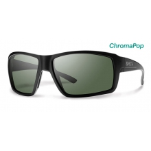 Colson Matte Black ChromaPop Polarized Gray Green by Smith Optics