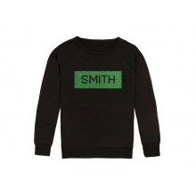 Distilled Women's Sweatshirt Black New Wave Medium by Smith Optics in Chino Ca