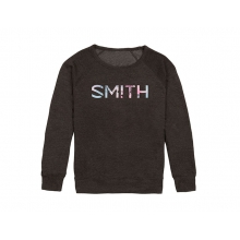 Distilled Women's Sweatshirt Charcoal Bloom Large by Smith Optics in Glenwood Springs CO