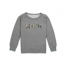 Distilled Women's Sweatshirt Gunmetal Heather Small by Smith Optics in Chino Ca