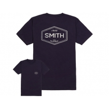Imprint Men's T-Shirt Navy Large by Smith Optics