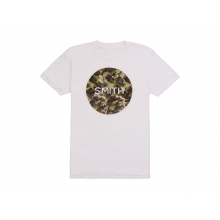 Haze Men's T-Shirt White Small by Smith Optics