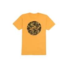 Haze Men's T-Shirt Gold Heather Large by Smith Optics