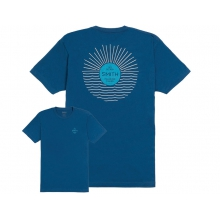 Deeper Men's T-Shirt Cool Blue Small by Smith Optics