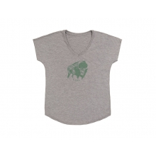 Wild West Women's T-Shirt Gray Heather Small by Smith Optics