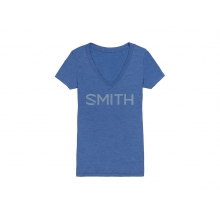Distilled Women's T-Shirt Vintage Royal Small by Smith Optics