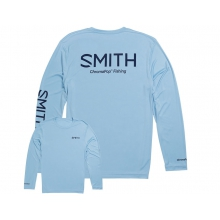 Squall Tech T-Shirt Light Blue Large by Smith Optics