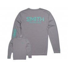 Squall Tech T-Shirt Gray Large by Smith Optics in West Vancouver Bc
