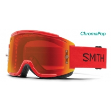 Squad MTB Fire ChromaPop Everyday Red Mirror by Smith Optics