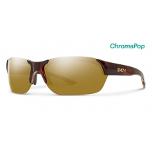Envoy Tortoise ChromaPop Polarized Bronze Mirror by Smith Optics