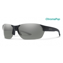 Envoy Matte Black ChromaPop Polarized Platinum by Smith Optics