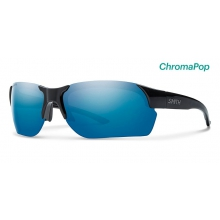 Envoy Max Black ChromaPop Polarized Blue Mirror by Smith Optics