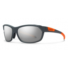 PivLock Overdrive Charcoal Neon Orange Super Platinum by Smith Optics in Salmon Arm Bc
