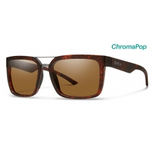 Highwire Matte Vintage Havana ChromaPop Polarized Brown by Smith Optics in Revelstoke Bc