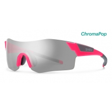 PivLock Arena Matte Shocking Pink ChromaPop Platinum by Smith Optics