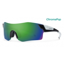 PivLock Arena Black ChromaPop Sun Green Mirror by Smith Optics in Chino Ca