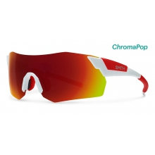 PivLock Arena Max White ChromaPop Sun Red Mirror by Smith Optics in Chino Ca