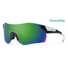 PivLock Arena Max Black ChromaPop Sun Green Mirror by Smith Optics