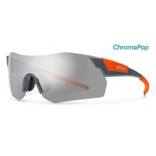 PivLock Arena Max Charcoal Neon Orange ChromaPop Platinum by Smith Optics