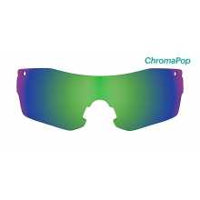 Pivlock Asana Replacement Lenses PivLock Asana ChromaPop Sun Green Mirror by Smith Optics