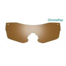 Pivlock Asana Replacement Lenses PivLock Asana ChromaPop Brown by Smith Optics