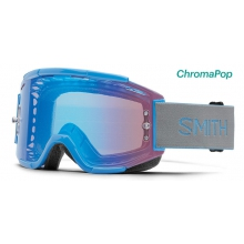Squad MTB French Blue ChromaPop Contrast Rose Flash by Smith Optics