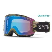 Squad MTB Olive Unexpected ChromaPop Contrast Rose Flash by Smith Optics