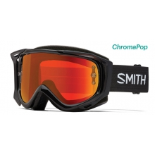 Fuel V.2 Black ChromaPop Everyday Red Mirror by Smith Optics