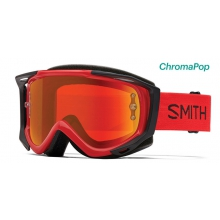 Fuel V.2 Fire ChromaPop Everyday Red Mirror by Smith Optics