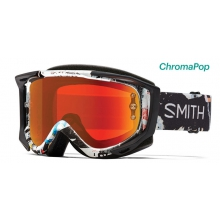 Fuel V.2 Ripped ChromaPop Everyday Red Mirror by Smith Optics
