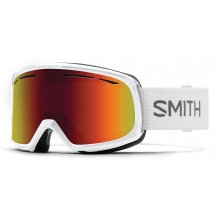 Drift Asian Fit White Red Sol-X Mirror by Smith Optics
