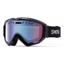 Knowledge OTG Asian Fit Black Blue Sensor Mirror by Smith Optics