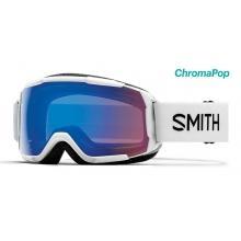 Grom White ChromaPop Storm Rose Flash by Smith Optics