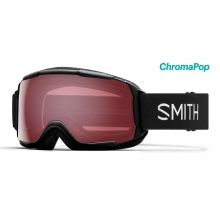 Grom Asian Fit Black ChromaPop Everyday Rose by Smith Optics