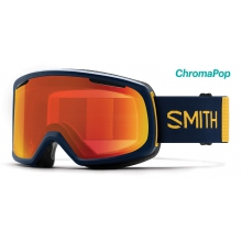 Riot Navy Wombat ChromaPop Everyday Red Mirror by Smith Optics