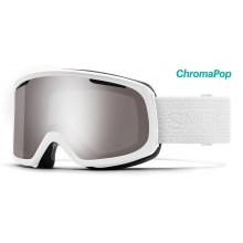 Riot White Mosaic ChromaPop Sun Platinum Mirror by Smith Optics in Brighton Mi