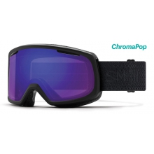 Riot Asian Fit Black Mosaic ChromaPop Everyday Violet Mirror by Smith Optics