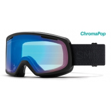 Riot Asian Fit Black Mosaic ChromaPop Storm Rose Flash by Smith Optics